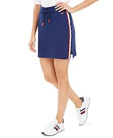 Logo Side-Stripe Skirt