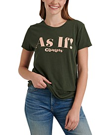 As If Graphic Cotton T-Shirt