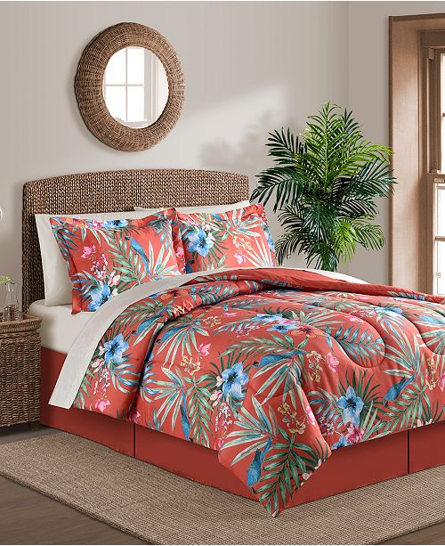 Fairfield Square Collection Paradise Island 8-Pc. Full Comforter Set
