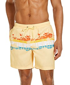 """Men's SoCal Scene 7"""" Swim Trunks, Created for Macy's"""