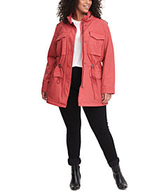 Levi's® Trendy Plus Size  Cotton Utility Jacket