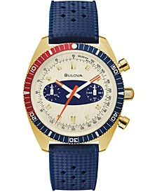 "Men's Archive Surfboard Blue Silicone Strap Watch 40.5mm ""Created for Macy's"""