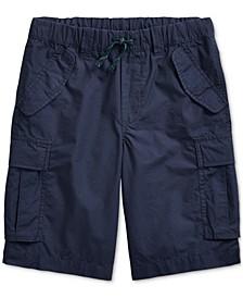 Big Boys Cotton Ripstop Cargo Shorts