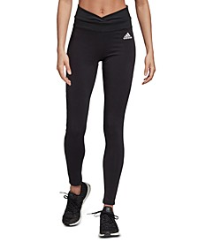 Women's Mesh 3-Stripe High-Waist Leggings