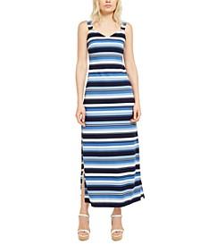 Striped Maxi Dress, Regular & Petite