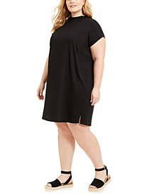 Plus Size Cap-Sleeve Dress, Created for Macy's