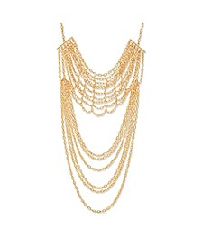 Layered Rolo Chain Necklace