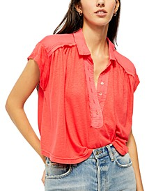 Low Down Henley Top