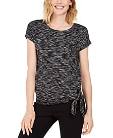 Tie-Hem T-Shirt, Created for Macy's