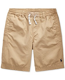 Big Boys Cotton Twill Shorts