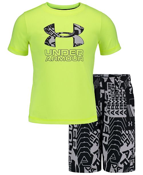 Under Armour Toddler & Little Boys Big Boys 2-Pc. Rash Guard Set