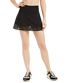 Shadow-Stripe Skort, Created for Macy's