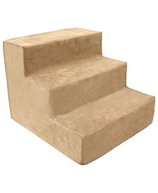 High Density Foam 3 Steps Pet Stairs