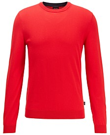 BOSS Men's Fabello Medium Red Sweater