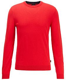 BOSS Men's Fabello Medium Red Sweater