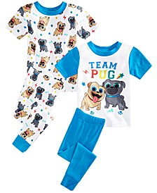 Toddler Boys 4-Pc. Puppy Dogs Pals Pajama Set