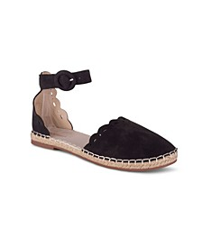 KENSINGTON Women's Laser Cut Detail Two Piece Espadrille