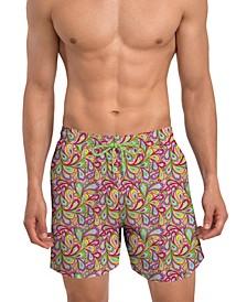 Men's Modern Fit Quick Dry 6'' Swim Trunks