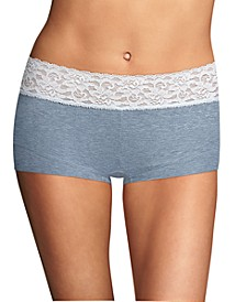 Cotton Dream Lace Boyshort Underwear 40859