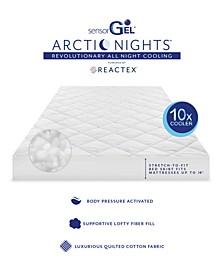 Arctic Nights 10x Cooler California King Mattress Pad Powered by REACTEX