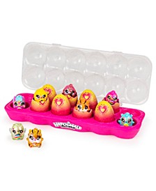 CollEGGtibles, Limmy Edish Glamfetti 12-Pack Egg Carton with 12 Exclusive Hatchimals