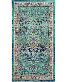 Era Tabriz ERA01 Blue 2' x 4' Area Rug
