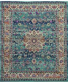"""Era Tabriz ERA01 Blue 7'10"""" x 9'10"""" Area Rug"""
