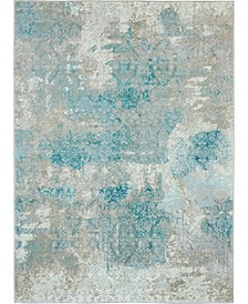 "Fate FAT07 Ivory 5'3"" x 7'4"" Area Rug"