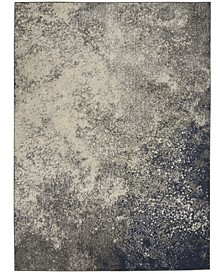 "Zeal ZEA10 Charcoal 3'9"" x 5'9"" Area Rug"