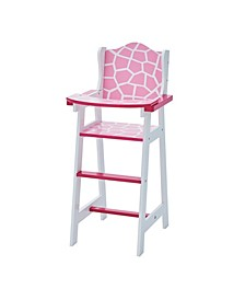 Olivia's Classic Baby Doll High Chair