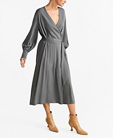 Belt Wrap Dress