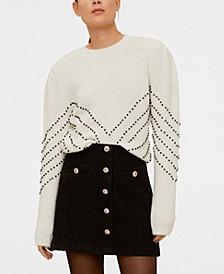 Sequin Beaded Sweater