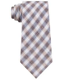 Men's Luxe Gingham Tie