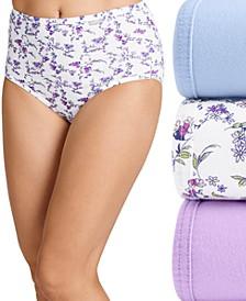 Elance Brief 3 Pack Underwear 1484, Extended Sizes
