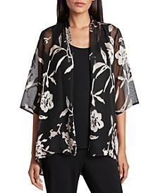 Floral Jacket & Camisole