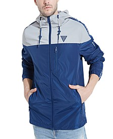 Men's Andrew Hooded Colorblocked Jacket