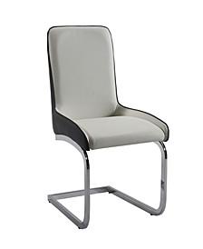 Stella 2-Tone Bucket Style Brewer Chair, Set of 2