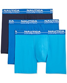 Men's 3-Pk. Competition Boxer Briefs