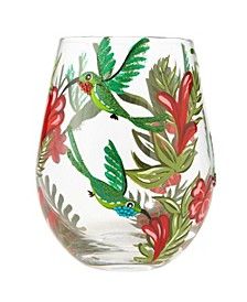 LOLITA Hummingbird Stemless Wine Glass