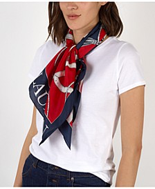 Angelina Silk Square Scarf