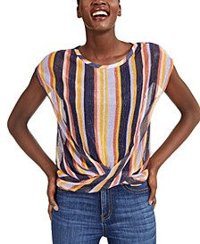 INC Twist-Hem Top, Created for Macy's