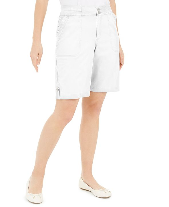 Karen Scott Bermuda Shorts, Created for Macy's