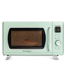 MCMO9FTSG Mid-Century Retro Microwave