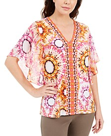 Printed Studded Top, Created for Macy's