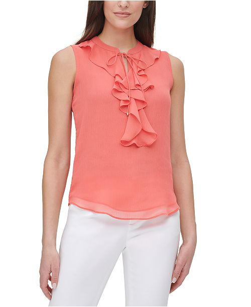 Tommy Hilfiger Ruffled Top