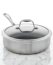 Zwilling J.A. Henckels Spirit Ceramic Nonstick 3 Qt. Covered Saute Pan