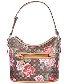 Signature Peonies Hobo, Created for Macy's