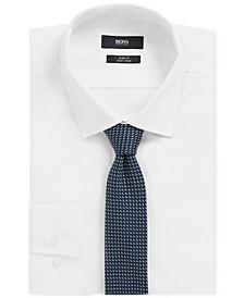 BOSS Men's Dark Blue Tie