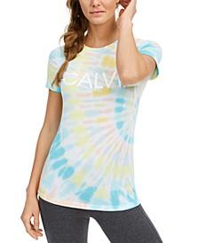 Logo Tie-Dyed T-Shirt