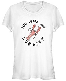 Friends You Are My Lobster Text Women's Short Sleeve T-Shirt